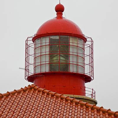 Photograph - Cape St. Vicente Lighthouse In Portugal by Kirsten Giving
