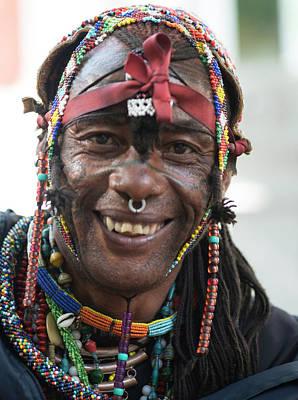 Photograph - Cape Town Busker by Bob VonDrachek