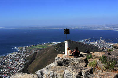 Photograph - Cape Town From The Lions Head by Aidan Moran