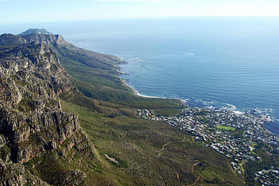 Photograph - Cape Town From The Top Of Table Mountain by Harvey Barrison