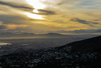 Photograph - Cape Town Morning From Table Mountain by Steven Richman