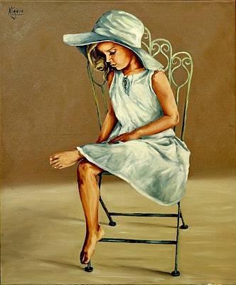 Painting - Capelina by Natalia Tejera