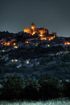 Capestrano Abruzzo Italy Art Print by Tom  Doherty
