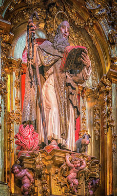 Photograph - Capilla Retable by David Cote