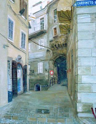 Painting - Capineto Romano by Masami Iida