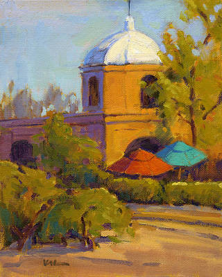 Painting - Capistrano Depot by Konnie Kim