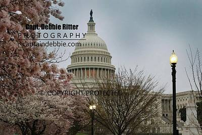 Photograph - Capital 8629 by Captain Debbie Ritter