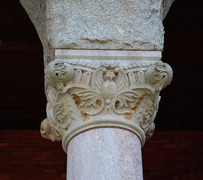 Photograph - Capital At The Courthouse by rd Erickson