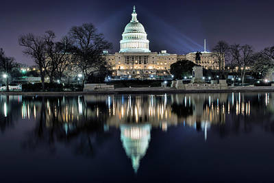 Photograph - Capital Building by Bill Dodsworth
