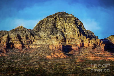 Photograph - Capital Butte Evening by Jon Burch Photography