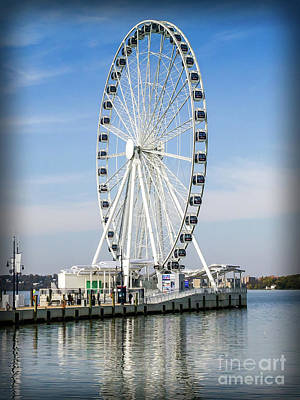 Photograph - Capital Ferris Wheel by Scott and Dixie Wiley