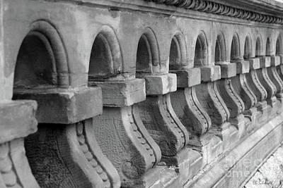 Photograph - Capital Grounds Wall by E B Schmidt