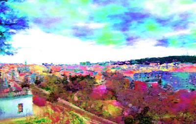 Czech Republic Digital Art - Capital by Lenka Rottova