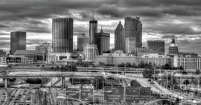 Photograph - Capital Of The South Atlanta Georgia Art by Reid Callaway
