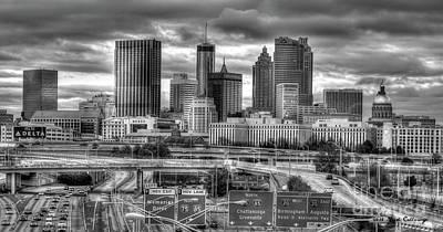 Photograph - Capital Of The South Atlanta Georgia Art by Reid Callaway