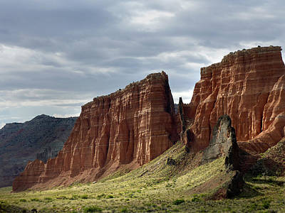 Capital Reef-cathedral Valley 9 Art Print