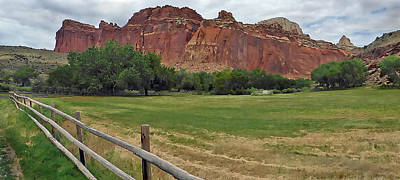 Photograph - Capital Reef Fruita 1 by Jeff Brunton