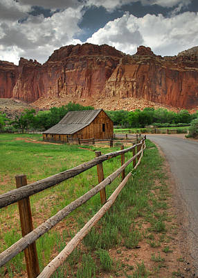 Photograph - Capital Reef by Jean-Pierre Ducondi