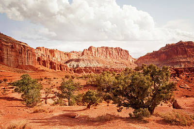Digital Art - Capital Reef Utah by Ramona Murdock