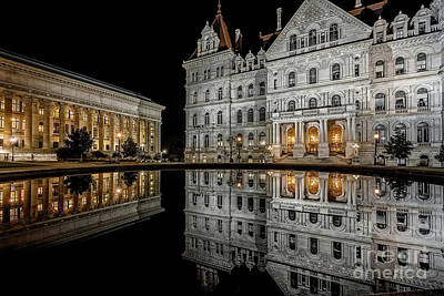 Photograph - Capital Reflections by Kim Clune