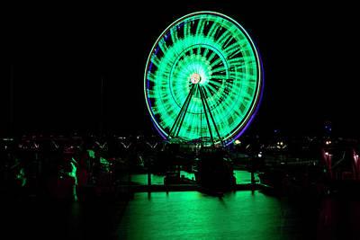 Photograph - Capital Wheel by Bill Dodsworth