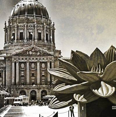 Capitol Building Digital Art - Capitol Building by Mary Pille