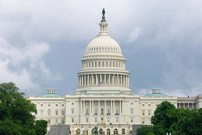 Photograph - Capitol Building by SR Green