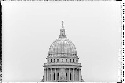Capitol Building Wall Art - Photograph - Capitol Cloud by Todd Klassy