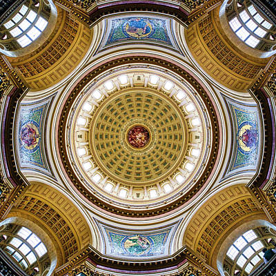 Photograph - Capitol - Dome 2- Madison - Wiscosnin by Steven Ralser