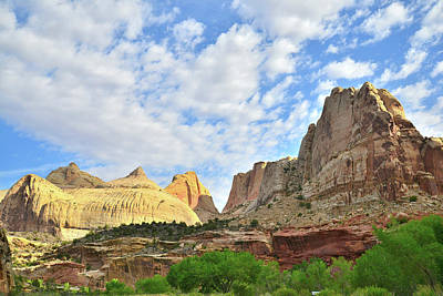Photograph - Capitol Dome In Capitol Reef National Park by Ray Mathis