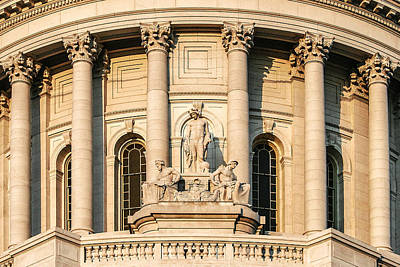 Photograph - Capitol Knowledge by Todd Klassy