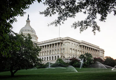 Photograph - Capitol Lawn by Greg Mimbs
