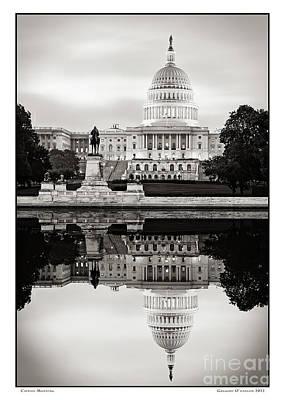 Gregory Ohanlon Photograph - Capitol Morning by Gregory O'Hanlon
