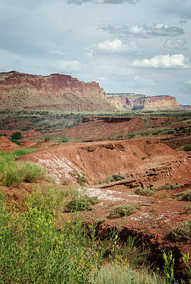 Photograph - Capitol Reef 4 by Susan McMenamin