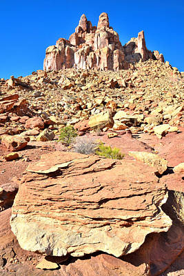 Photograph - Capitol Reef Castle by Ray Mathis