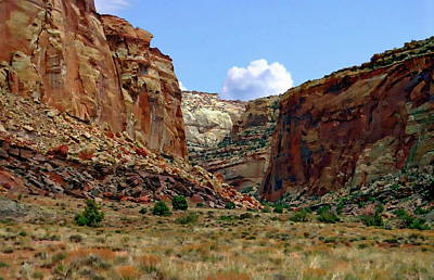 Photograph - Capitol Reef National Park by Anthony Dezenzio
