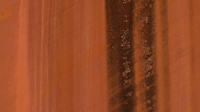 Photograph - Capitol Reef Sandstone Abstract 2 by Lawrence S Richardson Jr