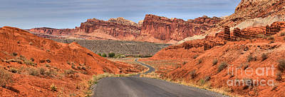 Photograph - Capitol Reef Stunning Drive by Adam Jewell