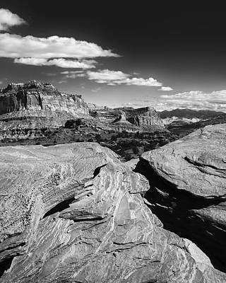 Capitol Reef National Photograph - Capitol Reef Vista by Joseph Smith