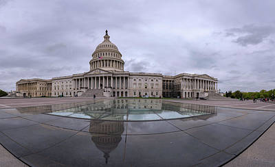 Photograph - Capitol Reflection by Michael Donahue
