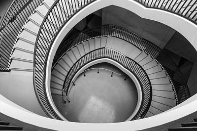 Capitol Stairs Art Print