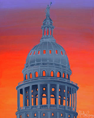 Painting - Capitol Warmth by Mark Lopez