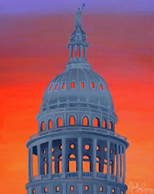 Capitol Warmth Art Print