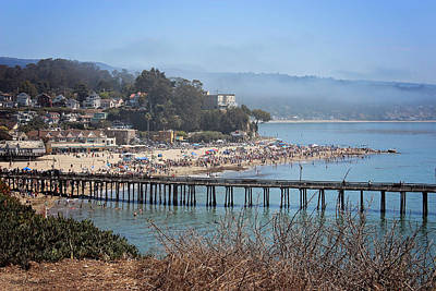 Photograph - Capitola Beach by Deana Glenz