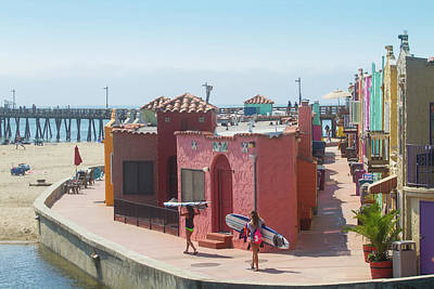 Photograph - Capitola By The Sea by Mark Miller