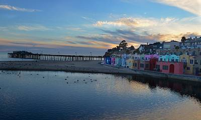 Capitola In October Art Print