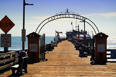 Photograph - Capitola Wharf by Joyce Dickens