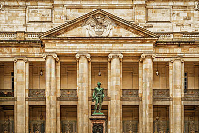 Photograph - Capitolio Nacional by Maria Coulson