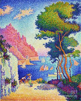 Painting - Capo Di Noli by Pg Reproductions