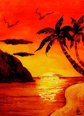 Painting - Capone Island by Lil Taylor
